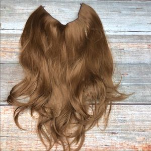 Strawberry Blond Full Hairline HALO HAIR EXTENSION